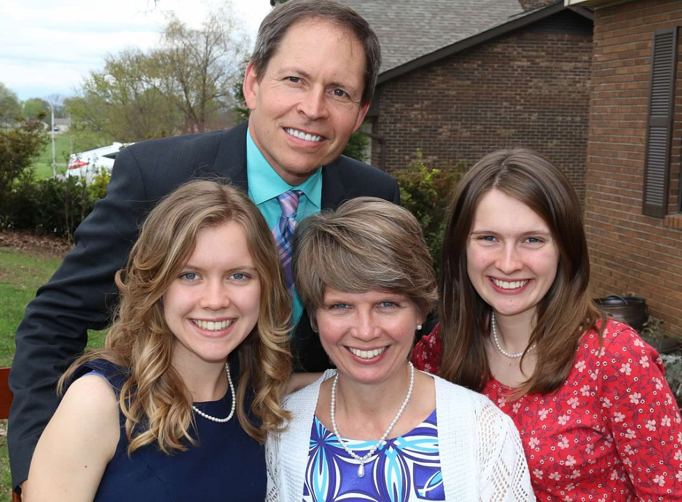 Co-ministers: Drs. Mark and Karen Borchert and Family